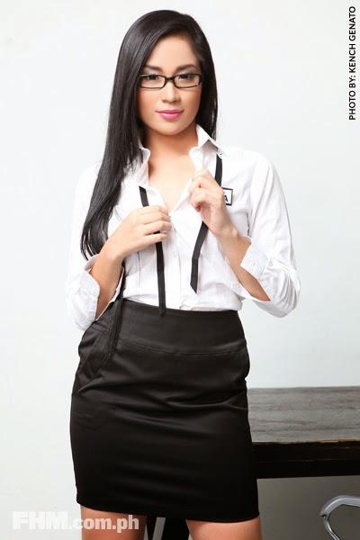 Enjoy Sexy photos: Sexy FHM Model Alyzza Agustin