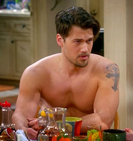 Nick Zano shirtless