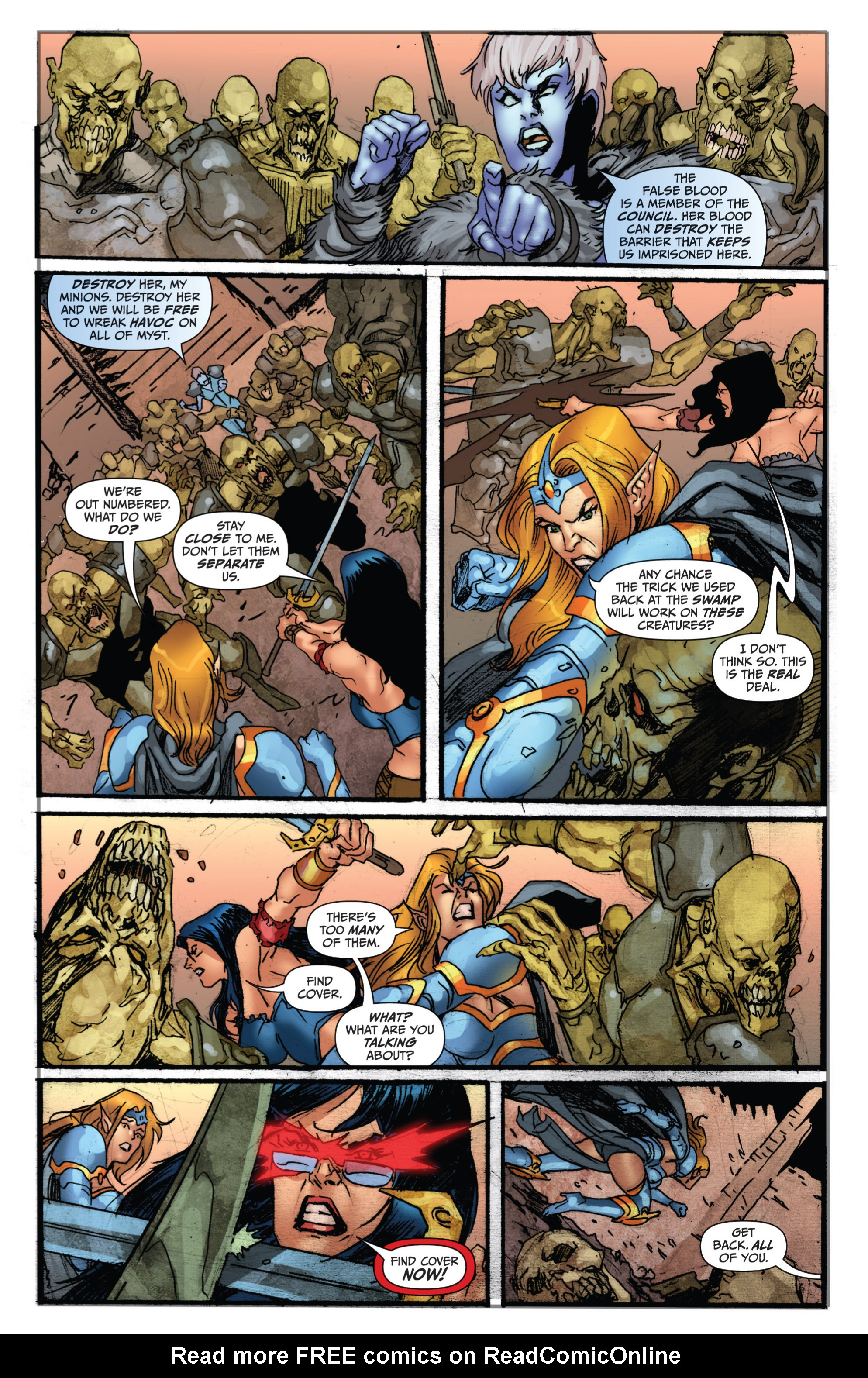Grimm Fairy Tales (2005) Issue #74 #77 - English 9
