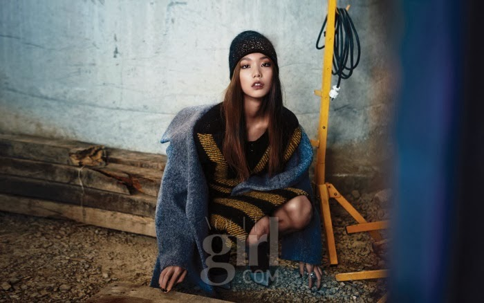 Lee Ho Jung - Vogue Girl Magazine November Issue 2013