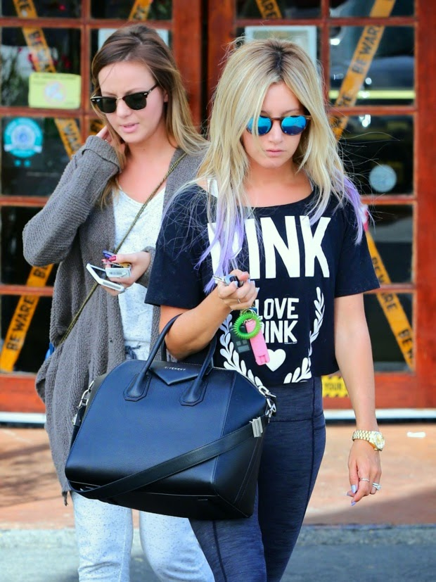 Ashley Tisdale  in Los Angeles