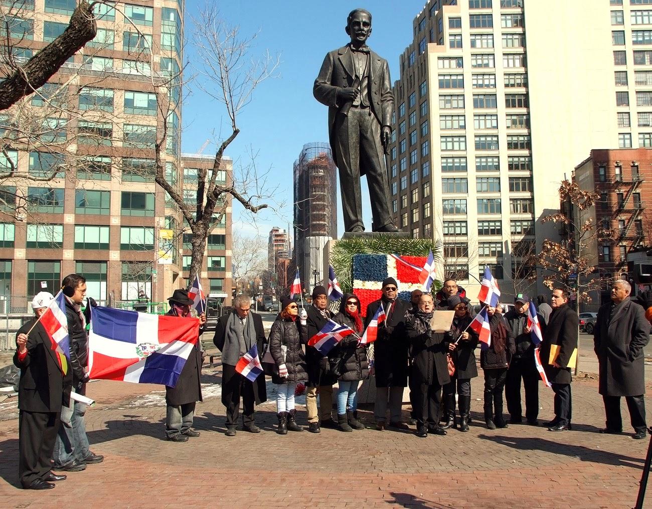 Consulado Dominicano en NY y organizaciones honran legado de Duarte en ofrenda floral