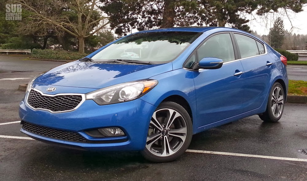 2014 Kia Forte EX review - Front