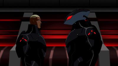 Aqualad é filho do Arraia Negra