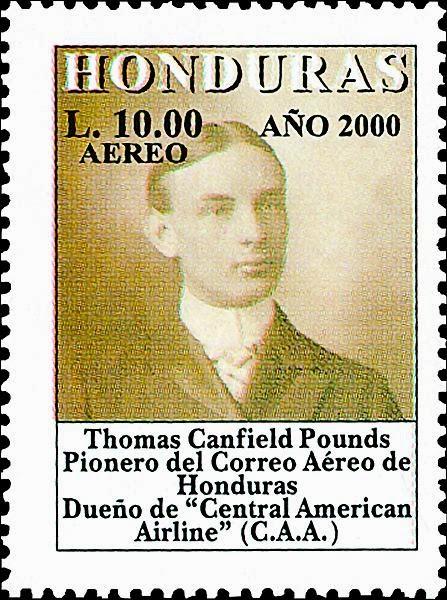 Honduras correo, filatelia,