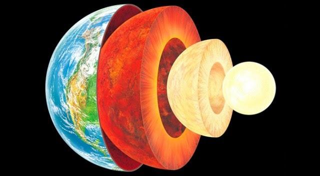 earth like an onion layers 640x353 - Científicos descubren un océano 400 millas bajo nuestros pies que podrían llenar nuestros océanos por tres veces