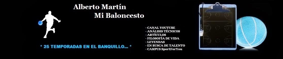 Alberto Martín. Mi Baloncesto.
