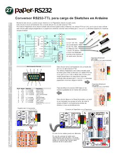 PaperRS232: RS232 driver for Paperduino