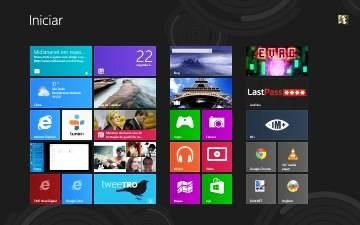 Tela Iniciar do Windows 8