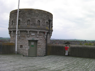 dorchester castle battlements, access to public