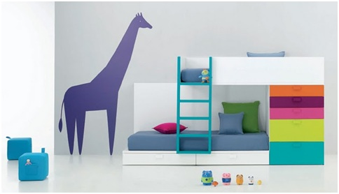 MINIMALIST BEDROOMS FOR CHILDREN MINIMALIST DORMS BUNK BEDS