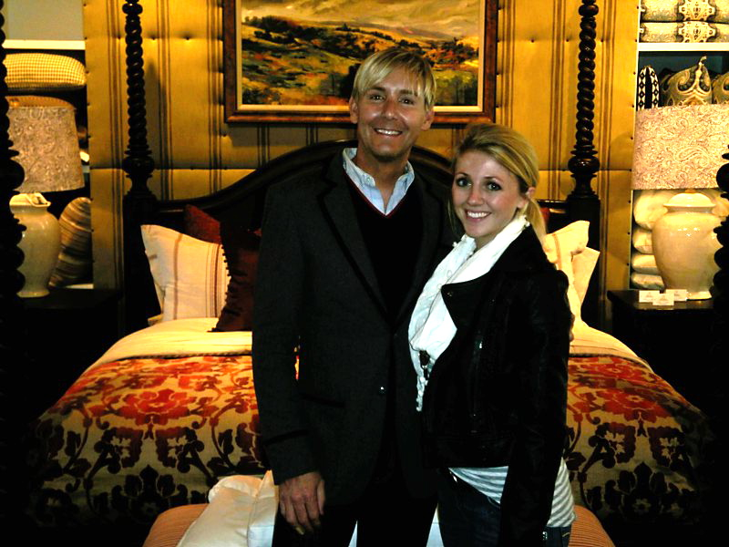 Genevieve Gorder Husband http://dovecotedecor.blogspot.com/2011/11/high-point-page-six.html
