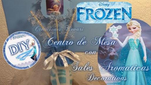 Manualidades Frozen