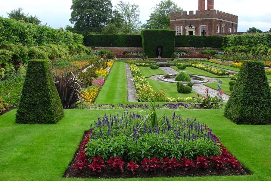 Dise o de jardines dise o de jardines for Diseno de jardines rectangulares