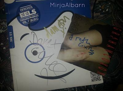 graham coxon ae signed, autograph blur, coxon autograph, blur milky