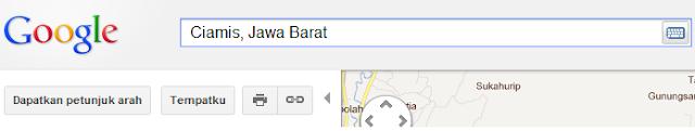 Cara Memasukkan Peta Lokasi Google Map ke Blog