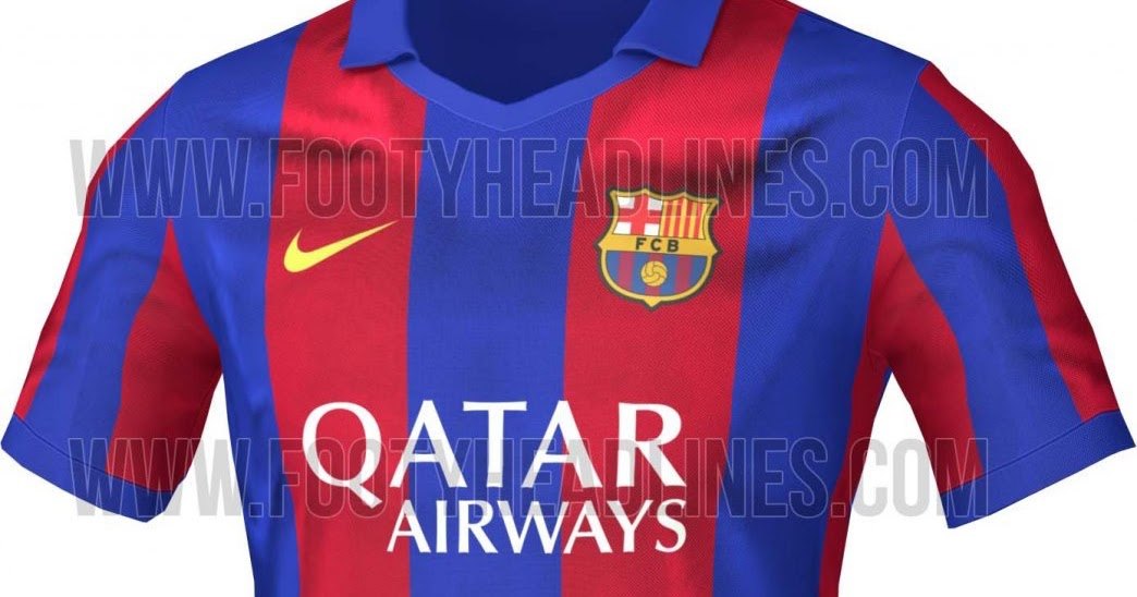 Barcelona 16-17 Home Kit Released - Footy Headlines