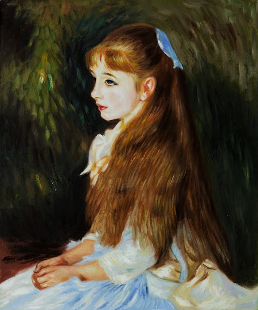 the work of cot and renoir This oil painting created by pierre-auguste cot in 1873 was one of the  pierre  auguste renoir's wife, aline charigot, was the model for the.