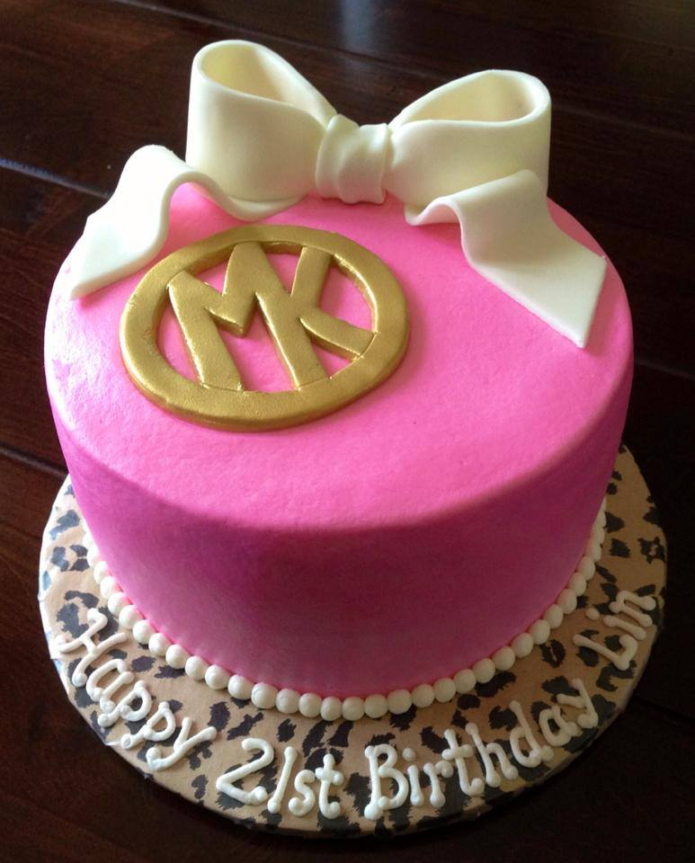 Cake Toppers Birthday Michaels : katycakes: Chic Michael Kors 21st Birthday Cake