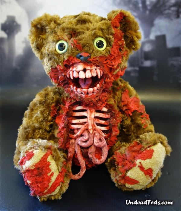 undead ted, zombie teddy bear