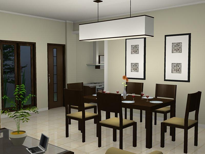 Contoh Desain Ruang Makan Minimalis