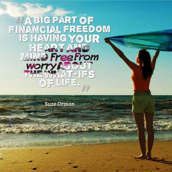 financial freedom quotations