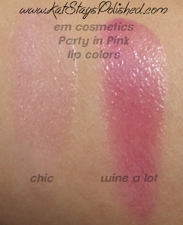 em michelle phan - The Life Palette- Party Life - Party in Pink - Lip