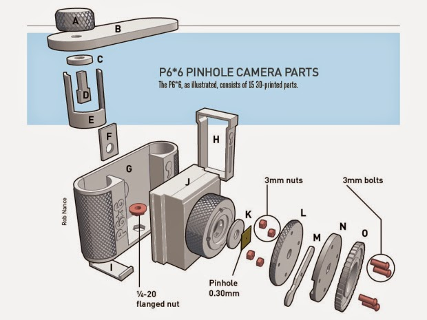 http://makezine.com/projects/3d-printed-pinhole-camera/