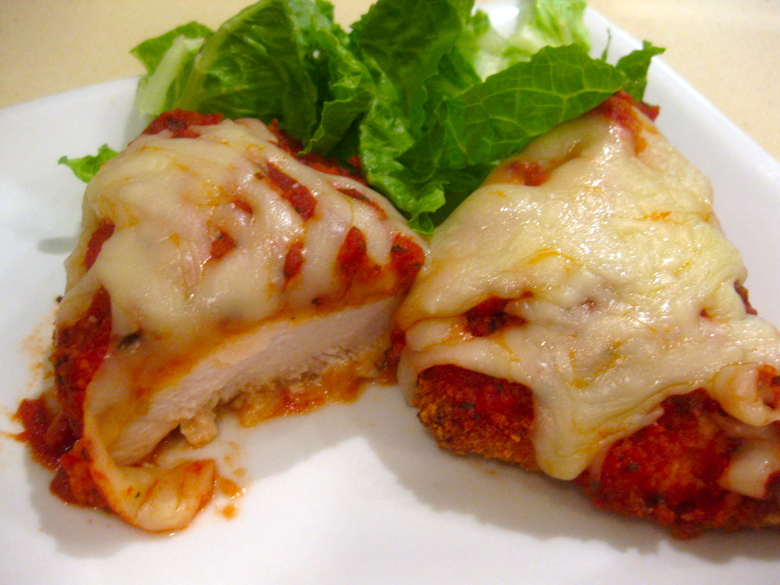 Vanilla & Lace: Baked Chicken Parmesan