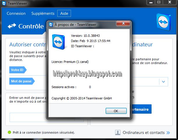 تحميل آخر إصدار TeamViewer 10.0.38843 Premium + Portable