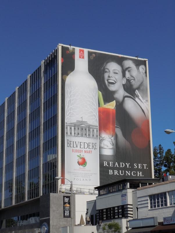 Belvedere Bloody Mary Vodka billboard
