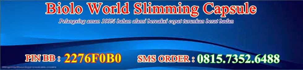 Pelangsing biolo world slimming capsule