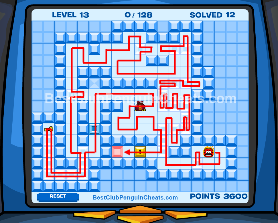 Club Penguin Thin Ice Cheats Level 13