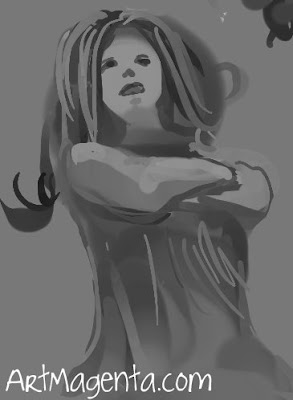 Everyday sketch from ArtMagenta.com
