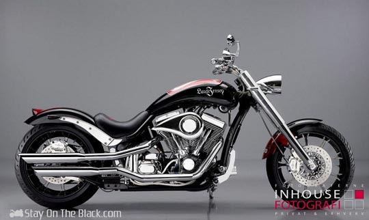 La Harley Davidson customisée Wayne Rooney