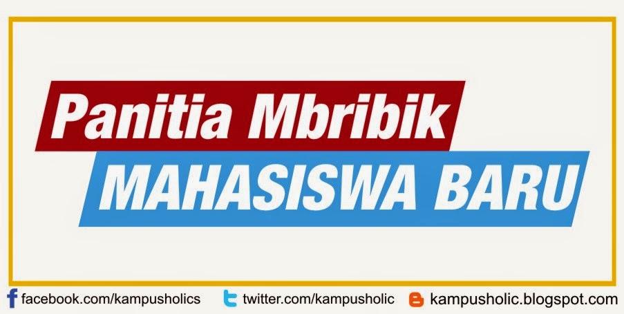Panitia Mbribik Mahasiswa Baru