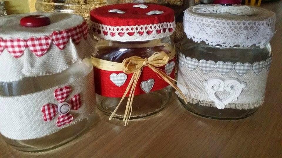 Ela sophie 39 s blog decorazioni barattoli - Come decorare un barattolo ...