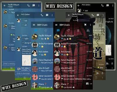 BBM GoRankPathTooth APK Terbaru (Transparent & Change Background)
