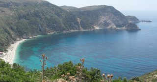Petani beach - perfect beach greek islands, kefalonia