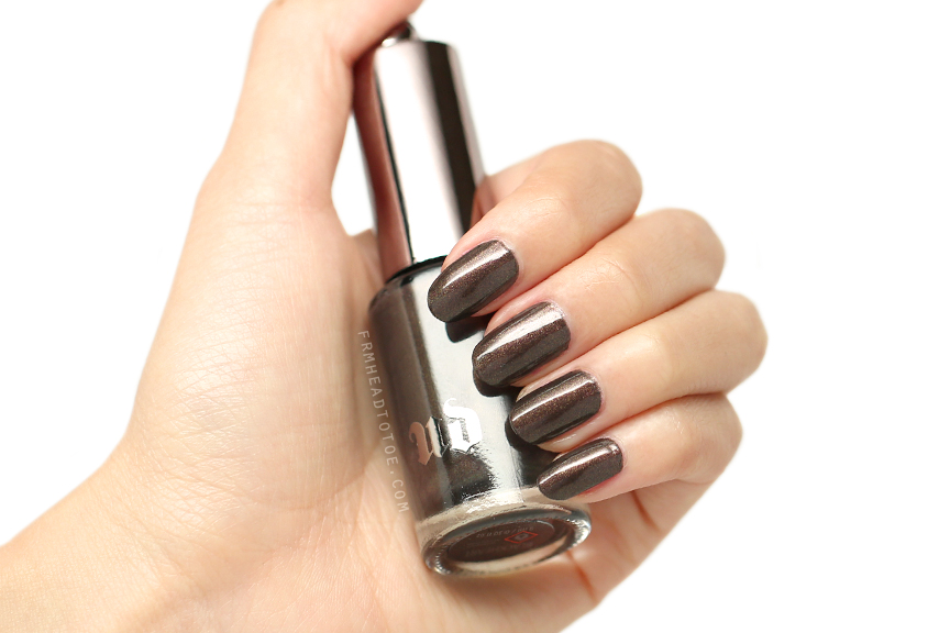 Manicure Monday: Urban Decay Nail Color in Blackheart - From Head To Toe
