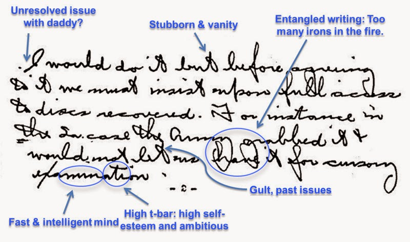 Analyze Handwriting