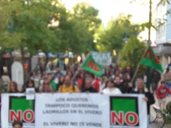 NO a las cabañas en el Vívero de Miramar. protejamoselvivero@groups.facebook.com