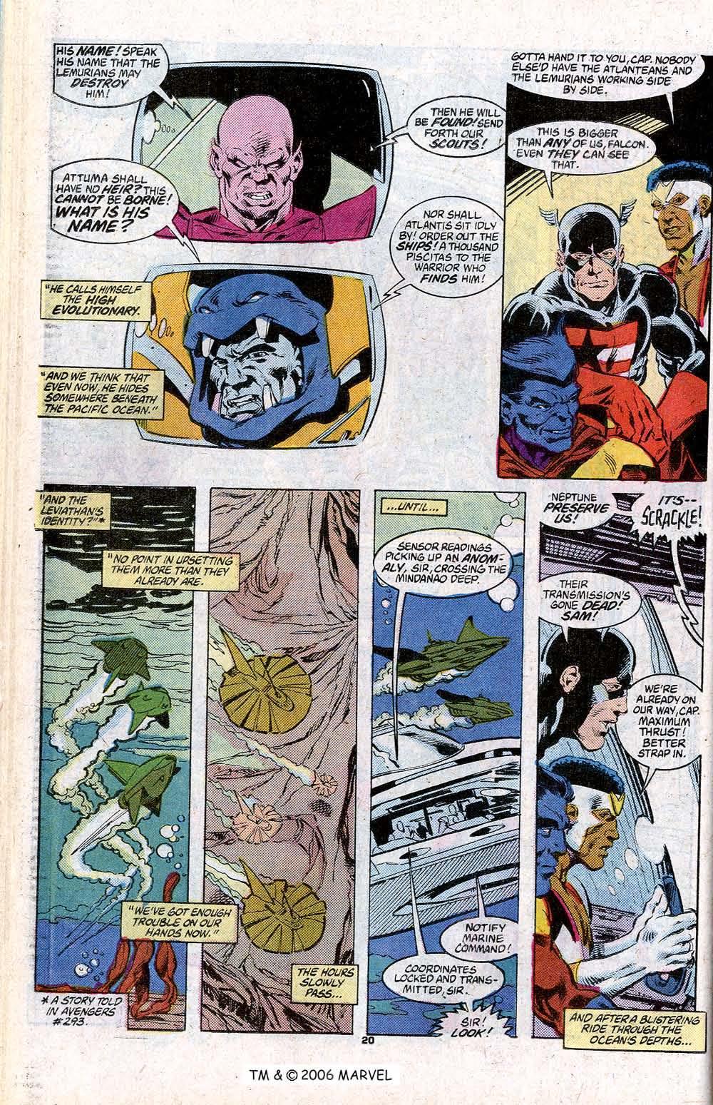 Captain America (1968) Issue #348c #280 - English 22