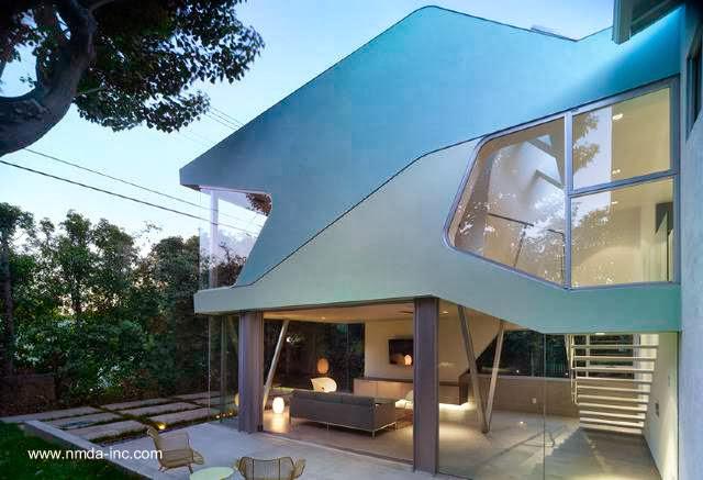 Sector ampliado de una casa californiana