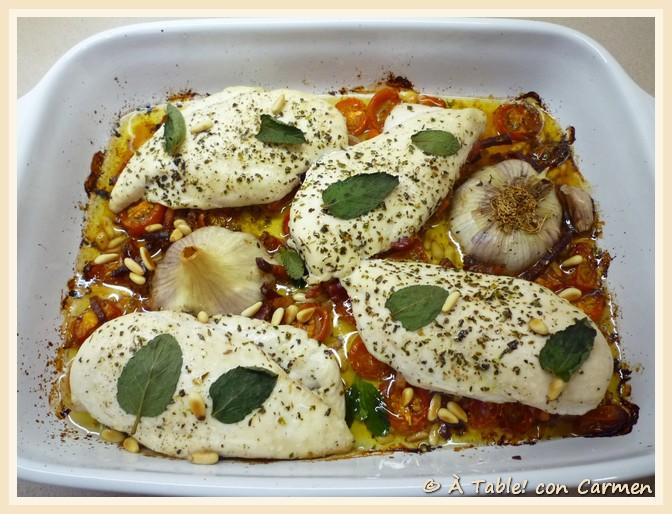 Pollo a la italiana hoy cocina mi sobri table - Cocina con carmen ...