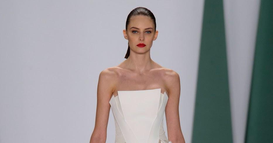 Carolina Herrera SS'15 ready-to-wear New York Fashion Week
