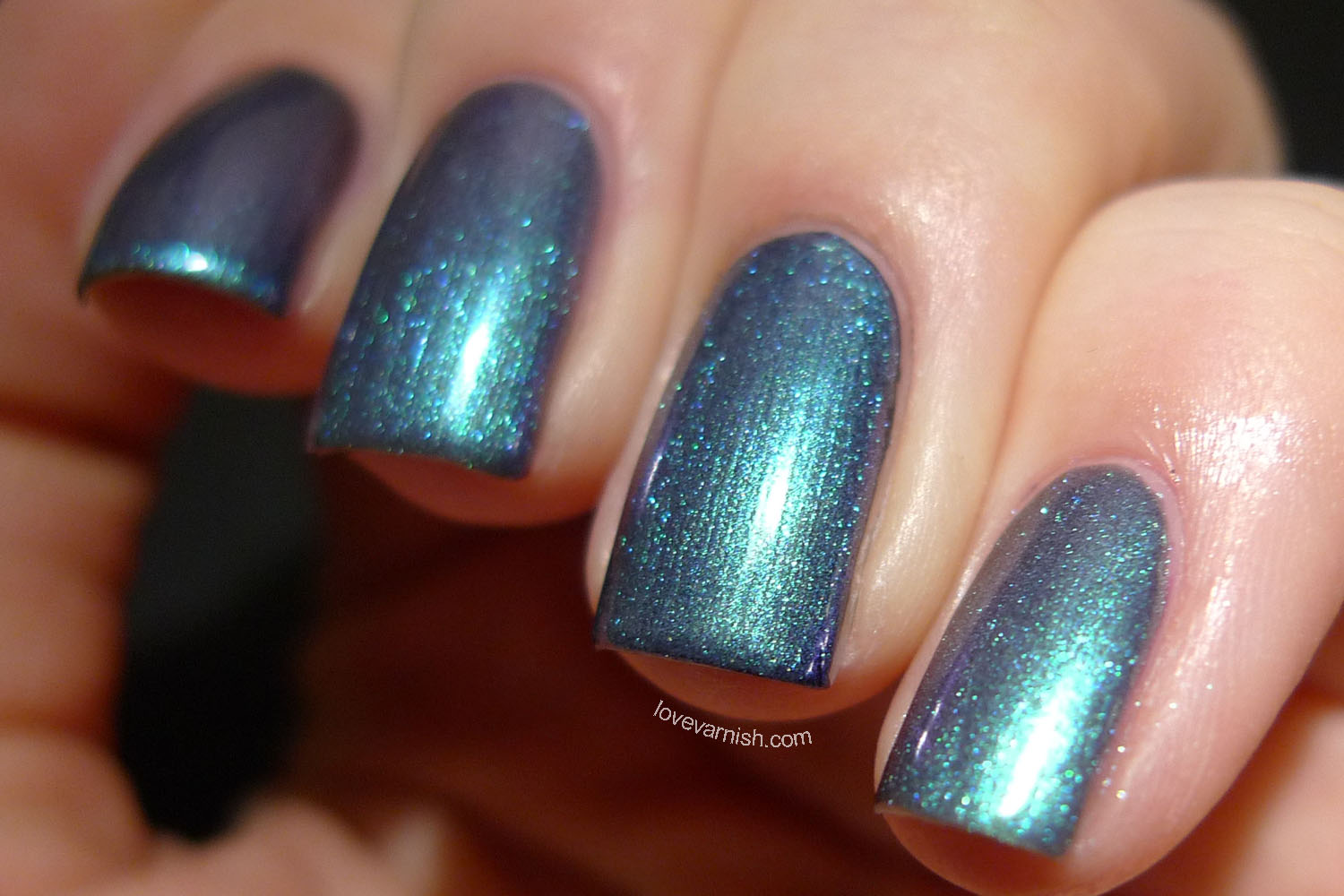 Catrice Get The Blues blue duochrome nail polish 2014 release
