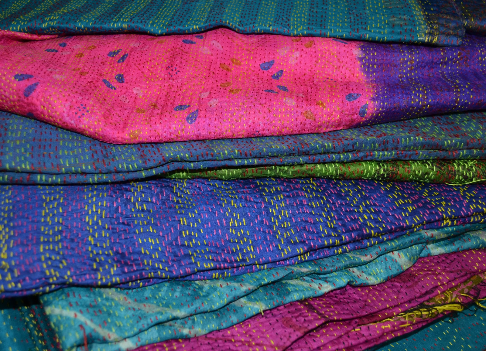 Things Will Fall Into Place India Textiles