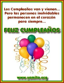 Frases Para Cumpleaños: Los Cumpleaños Van Y Vienen