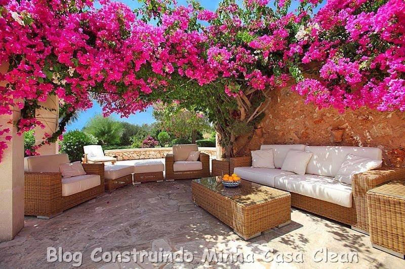 fotos de jardim quintal:Construindo Minha Casa Clean: Decoração de Varandas e Quintais!!!